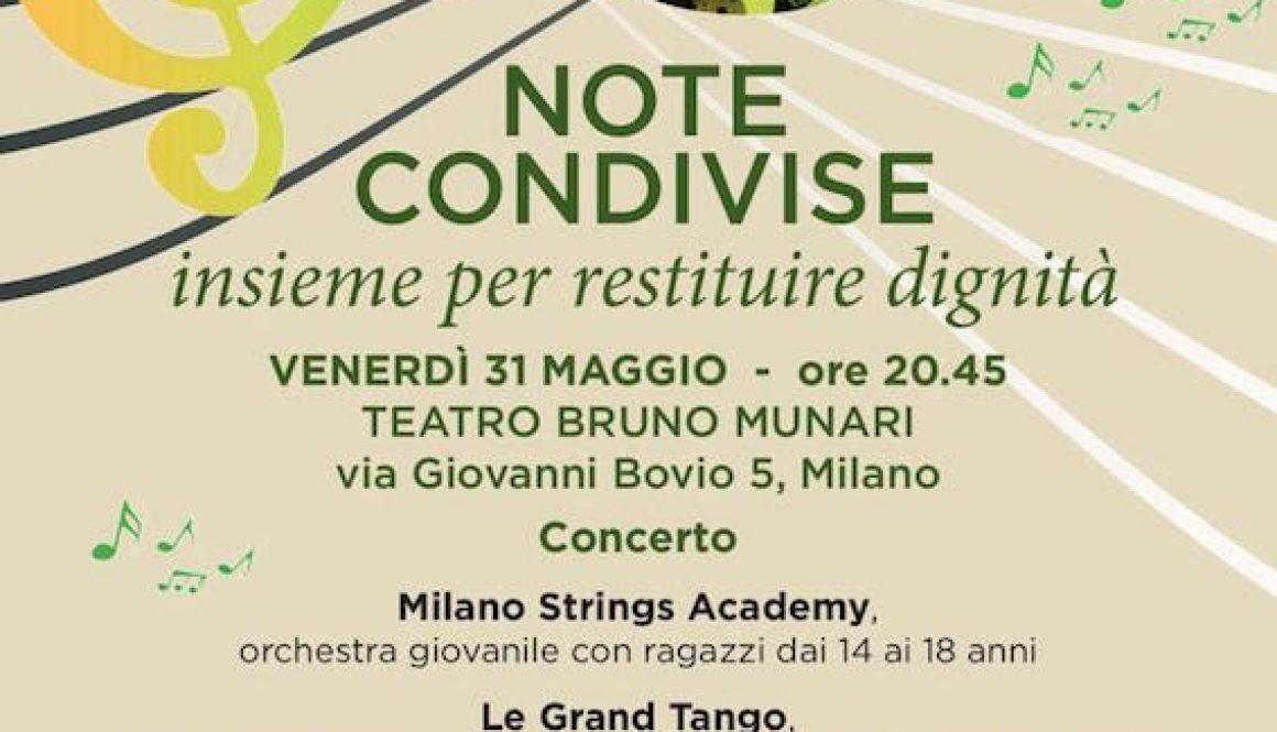 Concerto Note Condivise Associazione Il Girasole Onlus