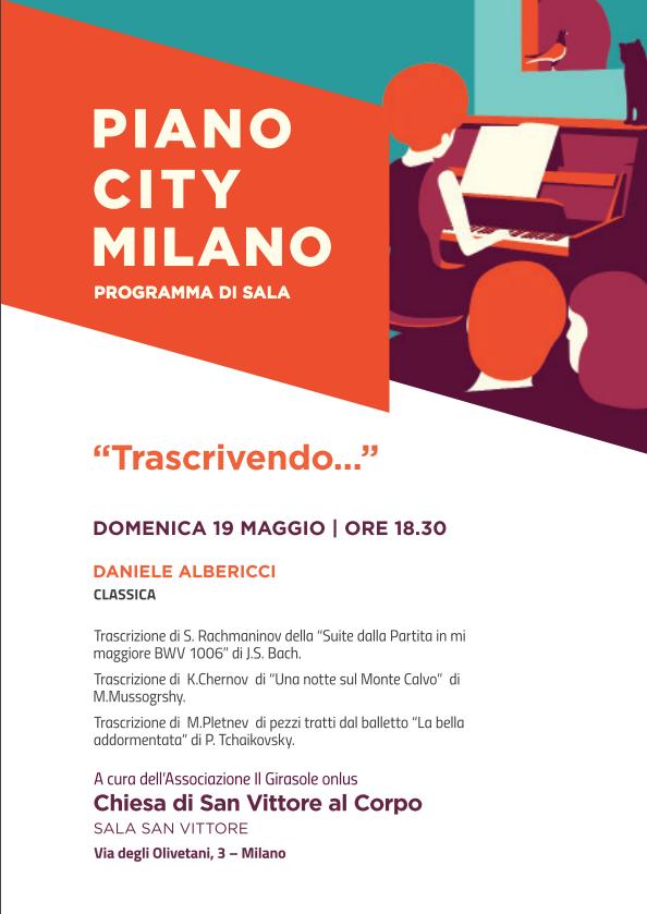 """""""Trascrivendo"""" Concerto del Maestro Daniele Albericci"""